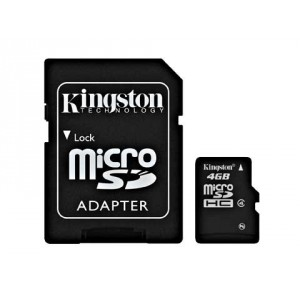 Carte Mémoire Micro SD - 4 Go