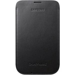 Pochette verticale bleu foncé pour Samsung Galaxy Note 2 (housse officielle)