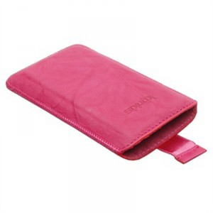 Housse vertical rose fushia pour le Samsung Galaxy Note 2