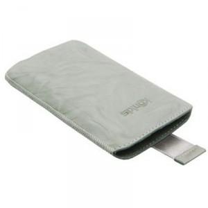 Etui gris clair vertical KONKIS pour Samsung Galaxy Note 2