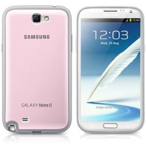 Coque arrière rose origine pour Samsung Galaxy Note 2