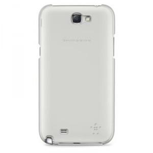 Coque rigide transparente Belkin pour Samsung Galaxy Note 2 polycarbonnate