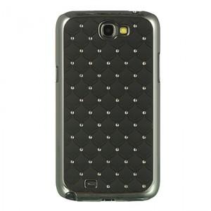 Coque noire strass (diamants) pour Samsung Galaxy Note 2