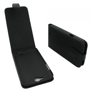 Housse noire style carbone Samsung Galaxy Note 2