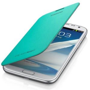 Etui Folio Vert Menthe Origine Samsung Galaxy Note II