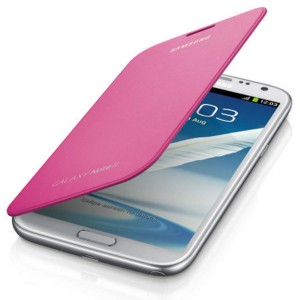 Housse origine intégrable rose pour Samsung Galaxy Note 2