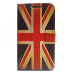 Housse support vintage UK drapeau Royaume Uni pour Samsung Galaxy Note 2