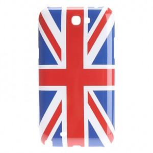 Coque drapeau Angleterre Royaume-uni pour Samsung Galaxy Note 2