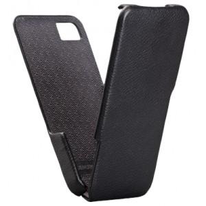 Etui rabat luxe cuir noir Case Mate pour BlackBerry Z10