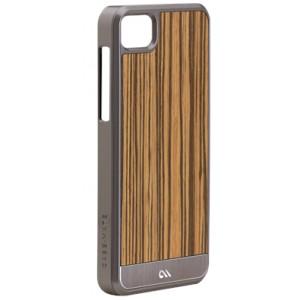 Coque Case Mate BlackBerry Z10 en bois modèle Zebrawood