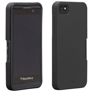 Coque luxe hybride Case Mate pour BlackBerry Z10 Noire