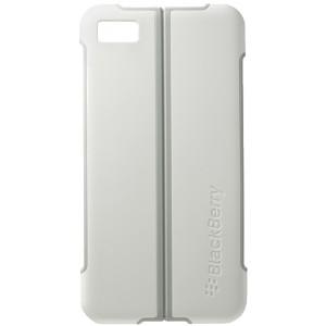 Coque arrière support vidéo blanche pour Blackberry Z10 - Marque Blackberry.