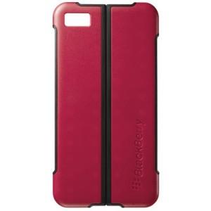 Coque rouge support origine pour Blackberry Z10