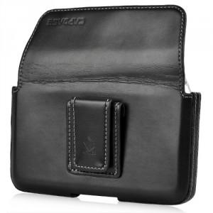 Etui ceinture luxe cuir noir Capdase pour Blackberry Z10