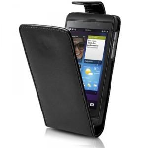 Housse à rabat noire Blackberry Z10
