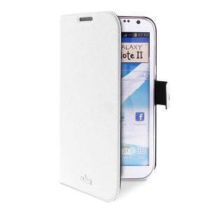 Etui blanc slim PURO luxe pour Samsung Galaxy Note 2