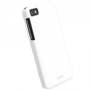 Coque luxe Krusell blanche pour Blackberry Z10