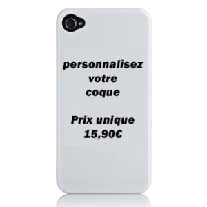 Coque personnalisée pour téléphone mobile